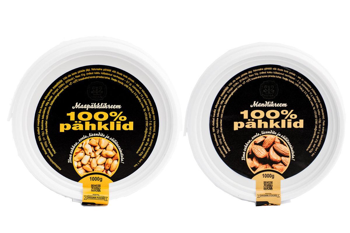 Maapähklikreem + Mandlikreem - 2kg