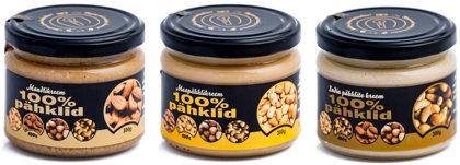 Nutvila Populaarseimad pähklikreemid - Maapähklikreem - Mandlikreem - India pähklite kreem
